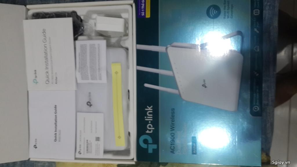 Router TP-Link C9 còn BH lâu. Cáp mạng AMP chính hãng thanh lý.