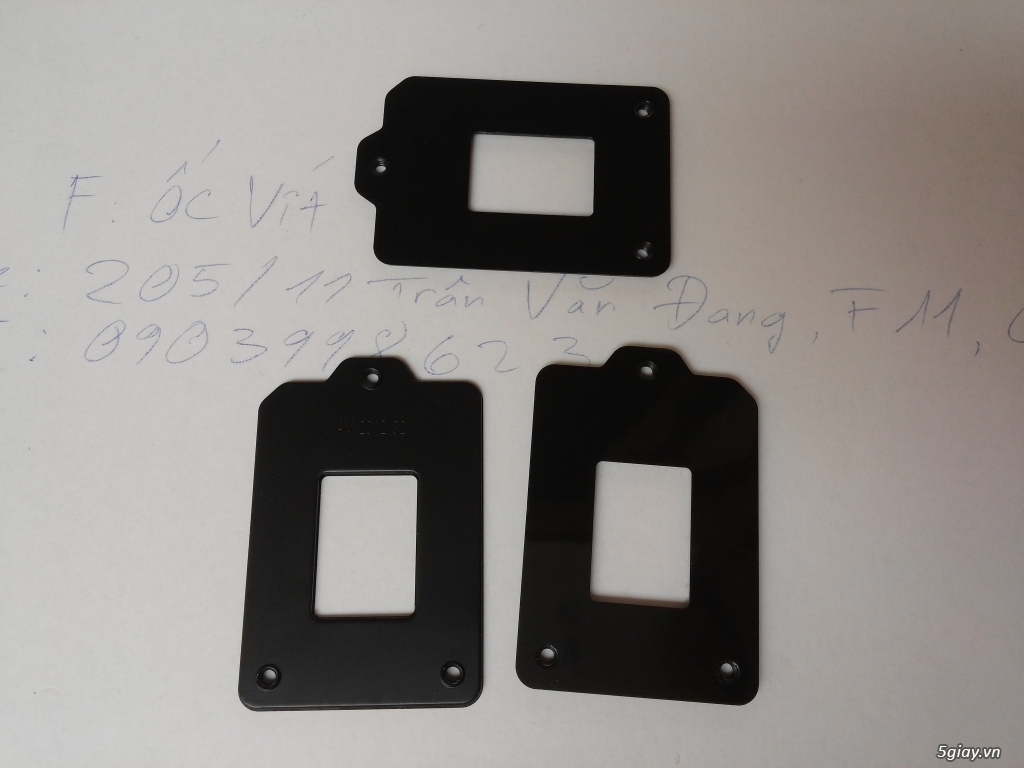 Hub Fan PWM, Backplate AMD 115x,775,1366clip 2011 gông, Ốc Đồ Mod Case - 10