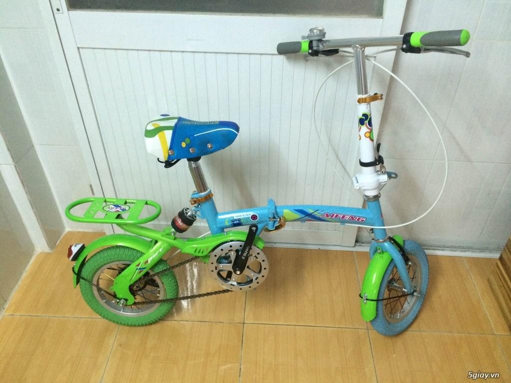 Xe đạp gấp bánh 12'' new% giá cực sốc - 2