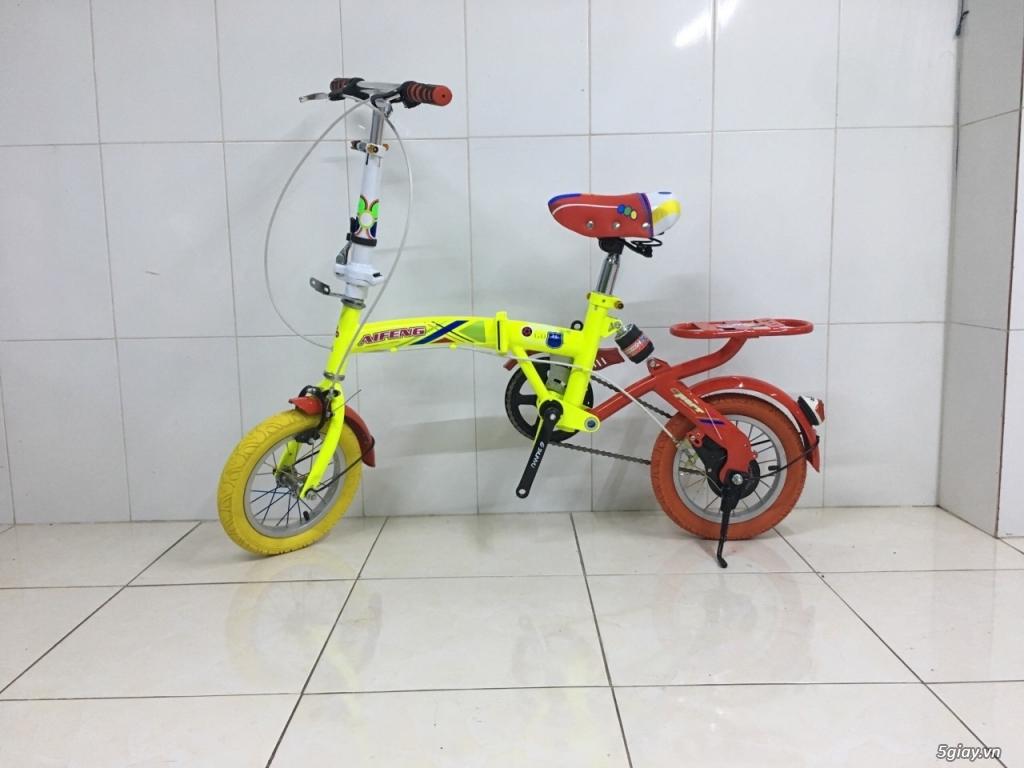 Xe đạp gấp bánh 12'' new% giá cực sốc
