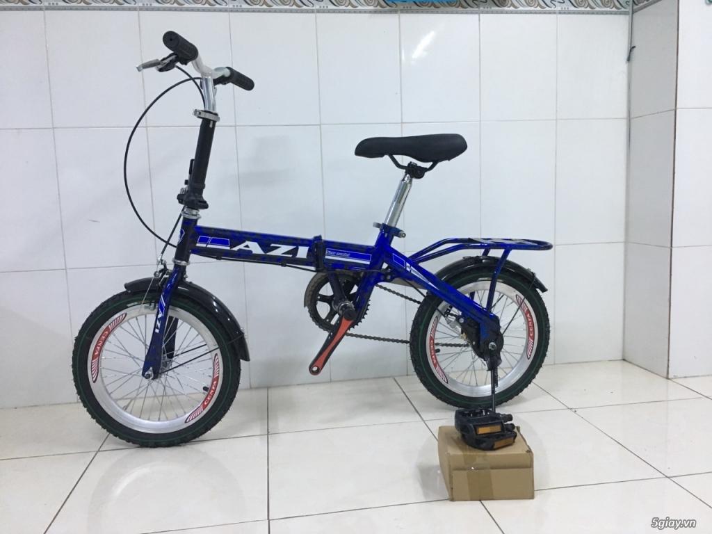 Xe đạp gấp bánh 12'' new% giá cực sốc - 5