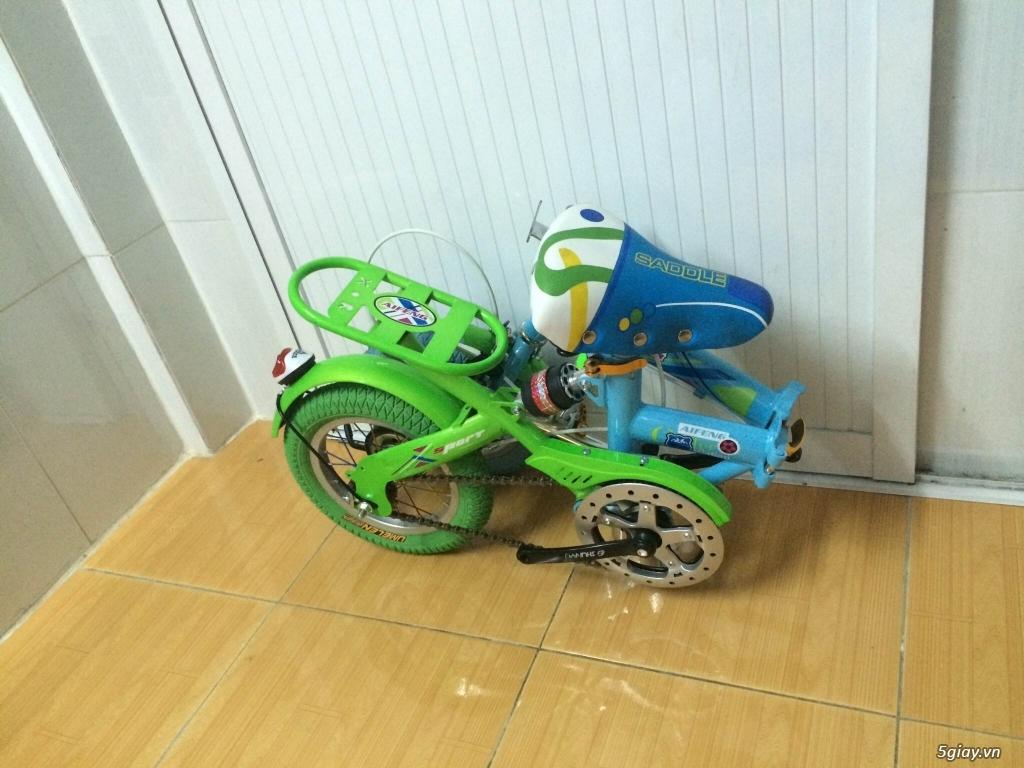 Xe đạp gấp bánh 12'' new% giá cực sốc - 3