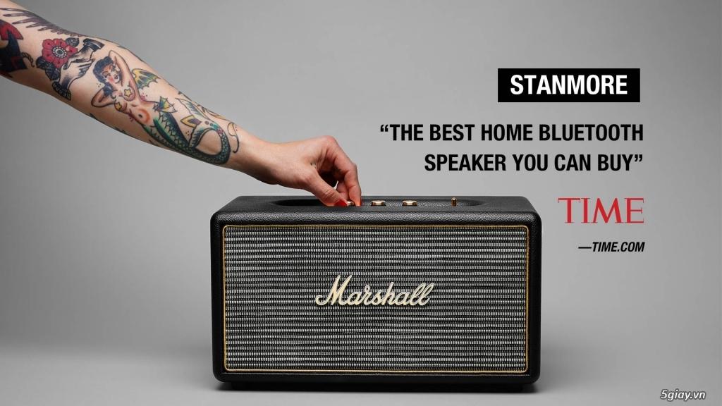 Marshall Stanmore - Chiếc loa đậm chất cổ điển