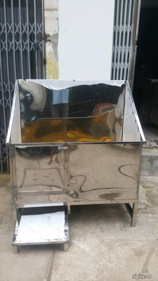 Bồn Tắm Chó-Mèo Inox 304, New 100%. - 1