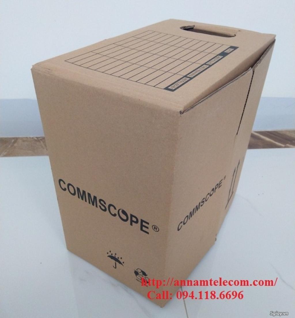 Cáp mạng Commscope Cat5E UTP mã 6-219590-2 có sẵn hàng tại Annam - 1