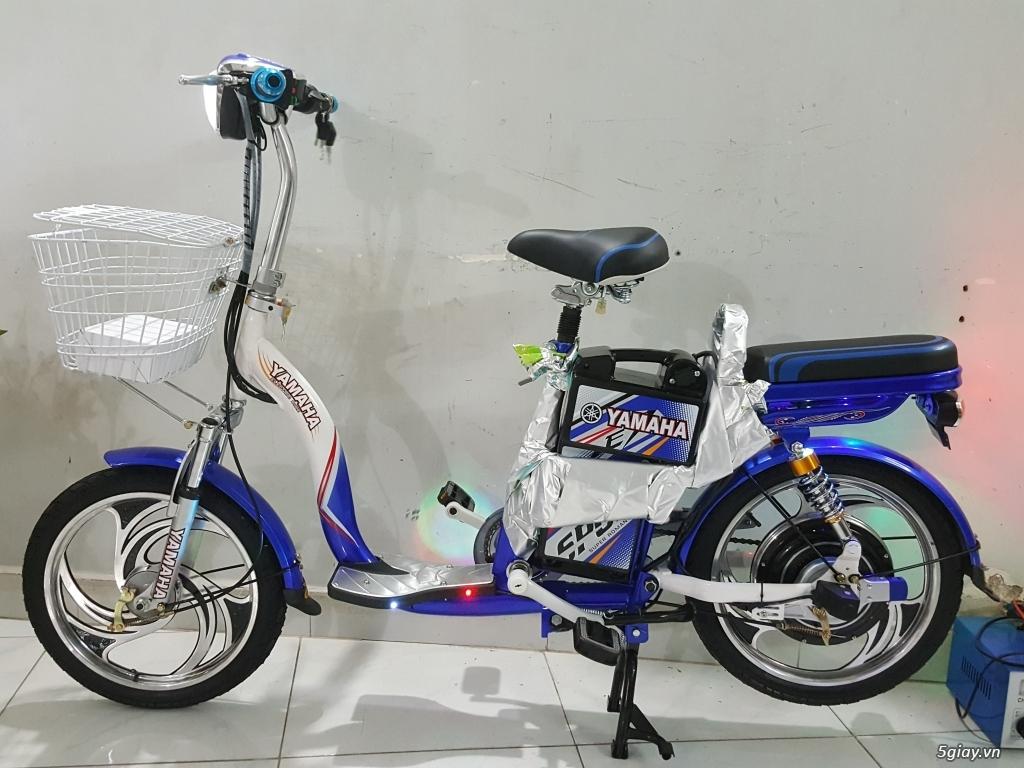 Cần bán 1 xe đạp điện Yamaha 4 bình còn đẹp như mới - 5