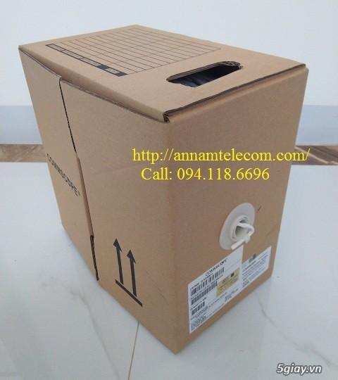 Cáp mạng Commscope Cat5E UTP mã 6-219590-2 có sẵn hàng tại Annam