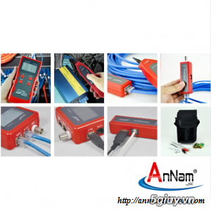Máy test mạng chính hãng NoYaFa mã NF868 có sẵn hàng tại Annam - 7