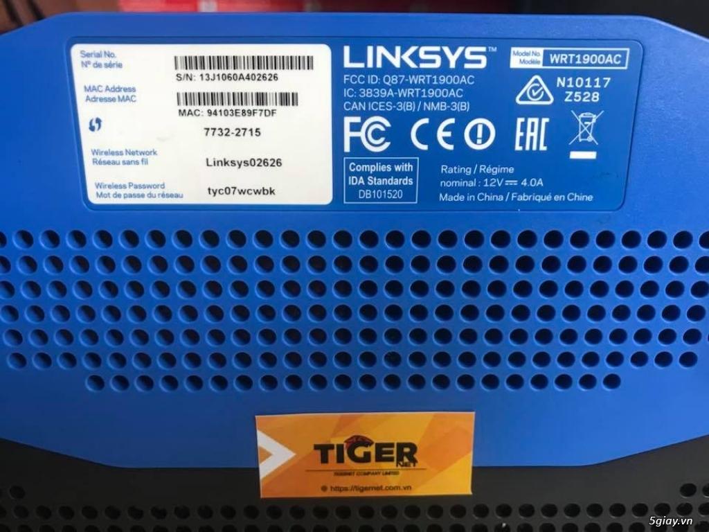 Bộ phát sóng wifi Linksys giá rẻ - BH 06 tháng! - 11
