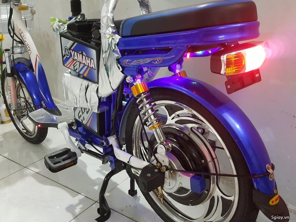 Cần bán 1 xe đạp điện Yamaha 4 bình còn đẹp như mới - 2