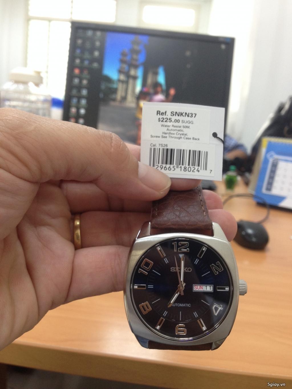 Đồng hồ Nam Seiko Men's SNKN37 Blue Automatic - 2