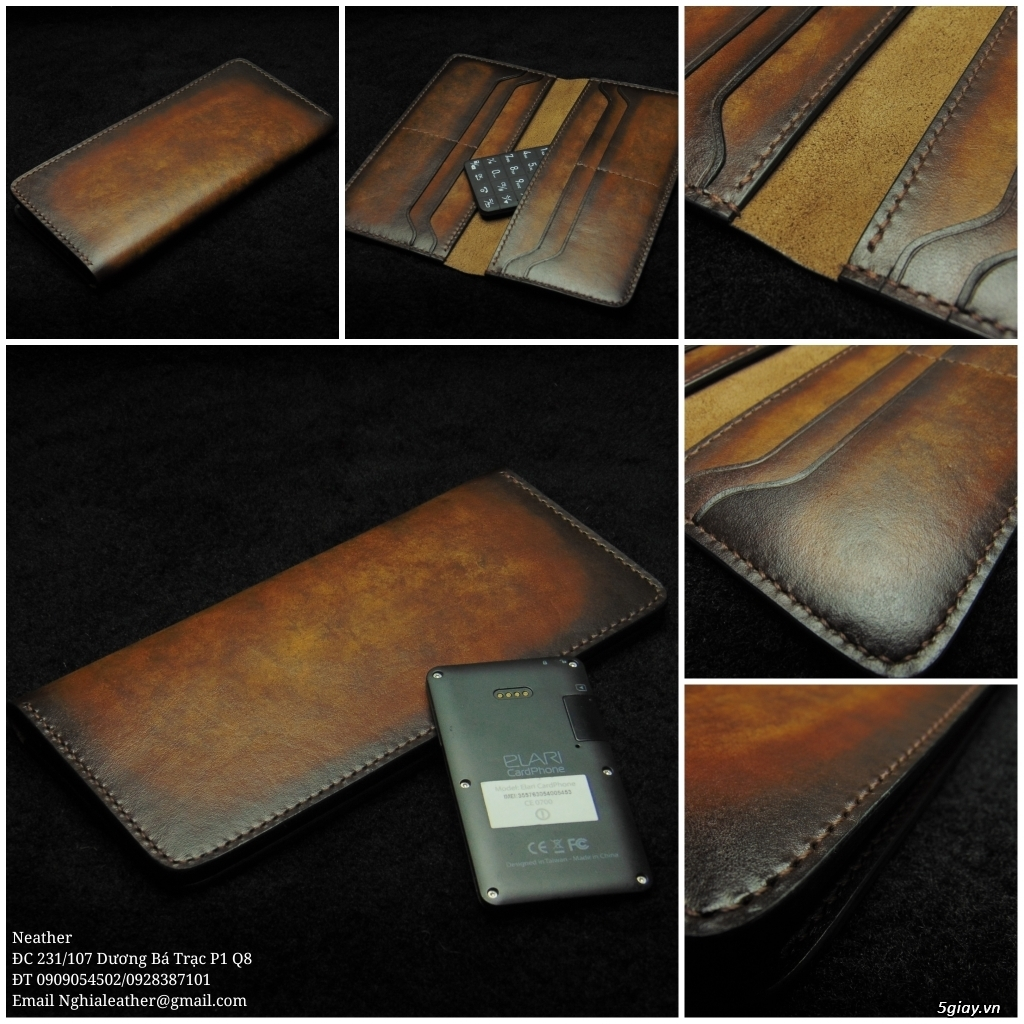 Nghĩa Leather: Chuyên may đồ da handmade