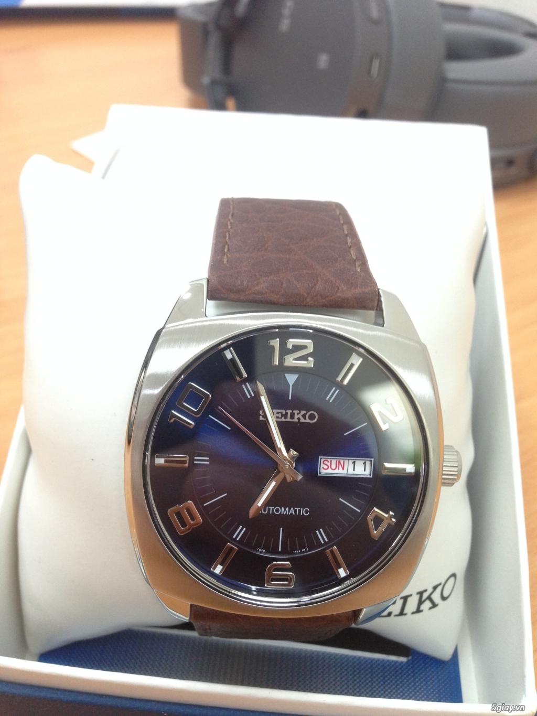 Đồng hồ Nam Seiko Men's SNKN37 Blue Automatic