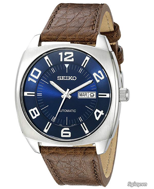 Đồng hồ Nam Seiko Men's SNKN37 Blue Automatic - 4