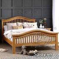 Bán giường gỗ sồi, tủ gỗ sồi, bàn ghế gỗ sồi, kệ tivi gỗ sồi...