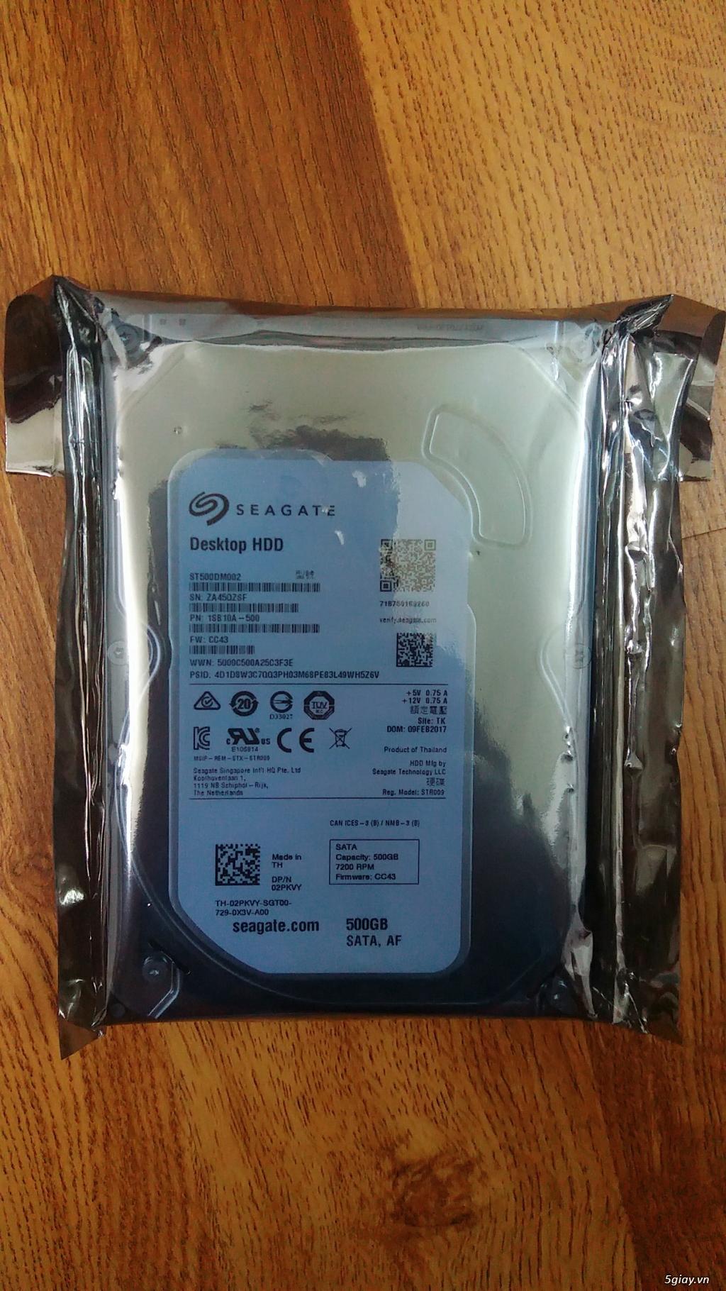 Ổ cứng pc, laptop 320gb đến 1tb mới 100% nhập từ Mỹ giá sỉ. - 8