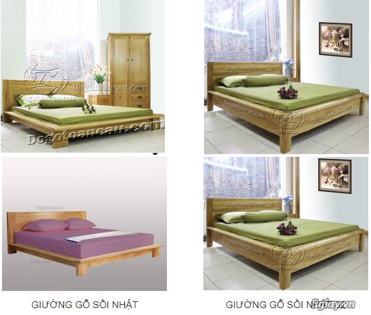 Bán giường gỗ sồi, tủ gỗ sồi, bàn ghế gỗ sồi, kệ tivi gỗ sồi... - 7