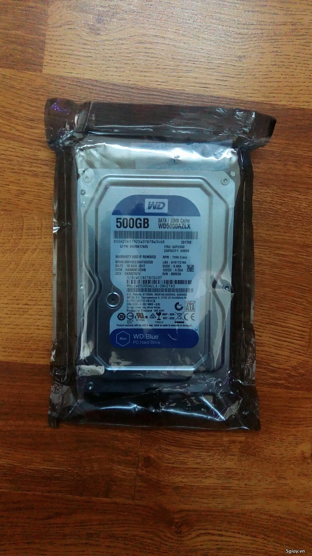 Ổ cứng pc, laptop 320gb đến 1tb mới 100% nhập từ Mỹ giá sỉ. - 7