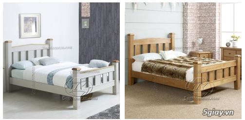 Bán giường gỗ sồi, tủ gỗ sồi, bàn ghế gỗ sồi, kệ tivi gỗ sồi... - 1