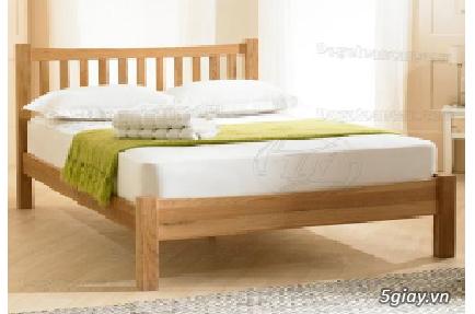 Bán giường gỗ sồi, tủ gỗ sồi, bàn ghế gỗ sồi, kệ tivi gỗ sồi... - 11