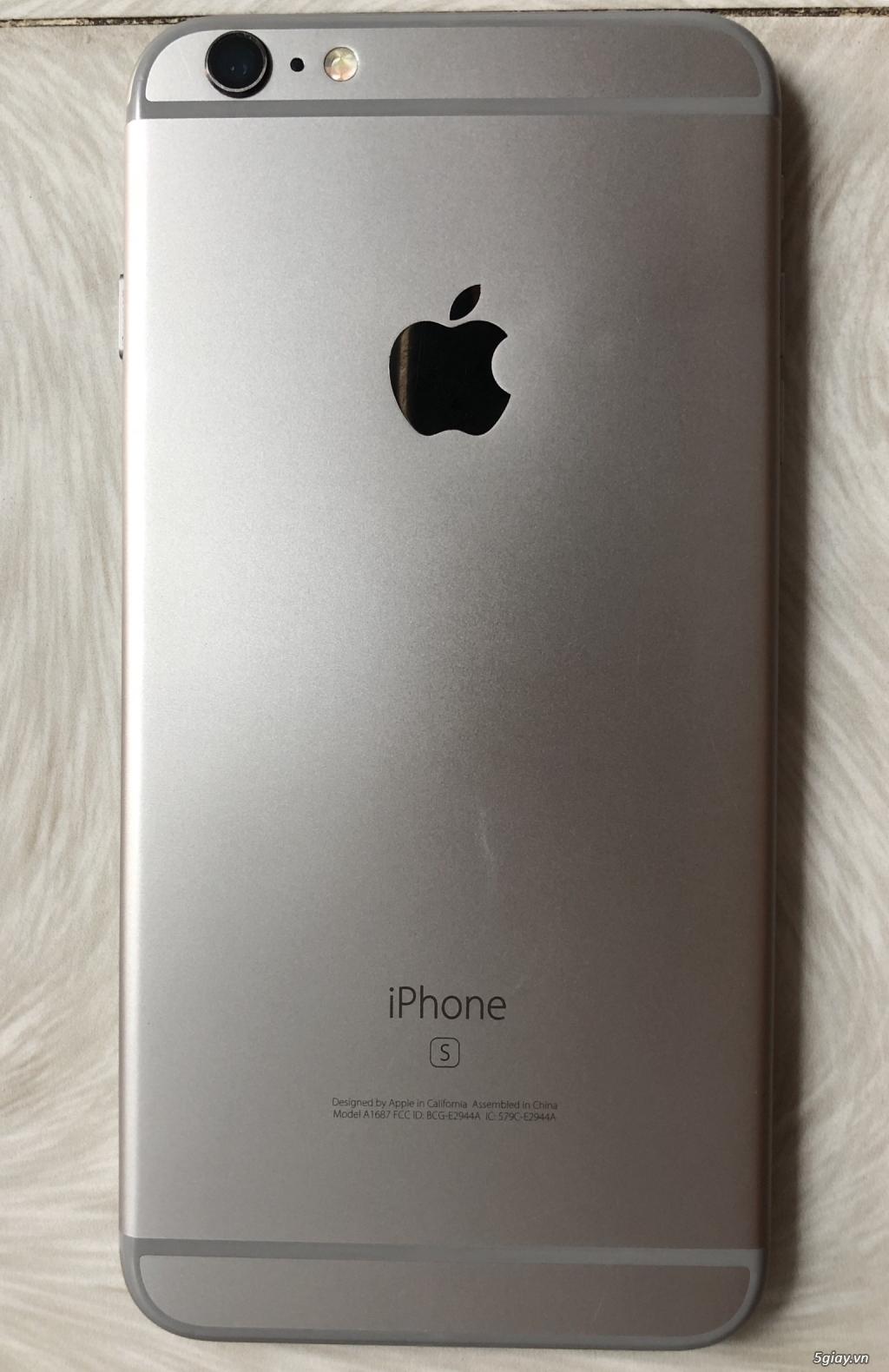 Cần đổi đt iphone 6s plus 32gb ko vân tay - 1