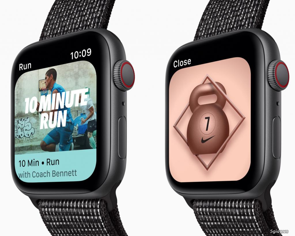 Apple Watch Series 4 40mm và 44mm sealbox bảo hành 12 tháng - 15