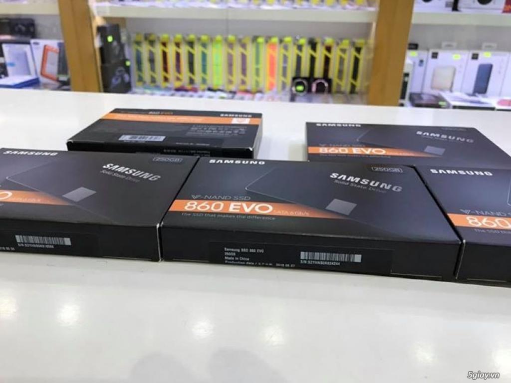 Ổ cứng 250GB SSD Samsung 860 EVO SATA 3 (6Gb/s) hàng Mỹ sealbox giá rẻ - 3
