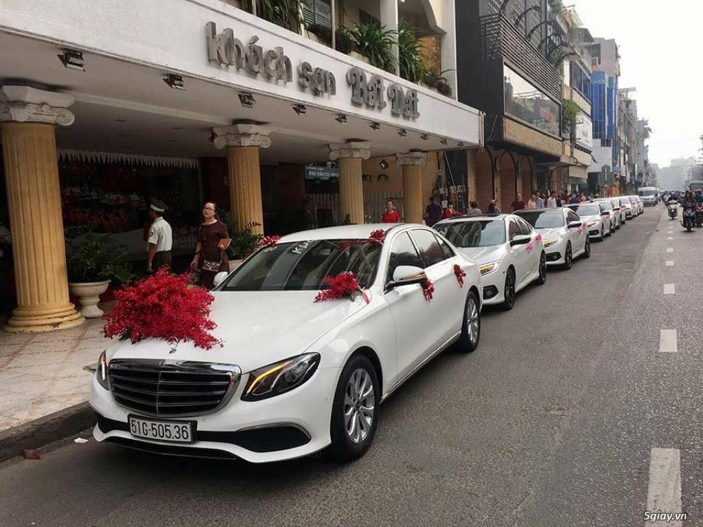 Chuyên cho thuê xe hoa, xe rước dâu Mercedes BMW Camry giá tốt xe đẹp - 32