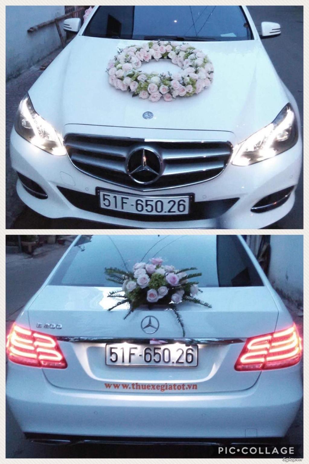 Chuyên cho thuê xe hoa, xe rước dâu Mercedes BMW Camry giá tốt xe đẹp - 13