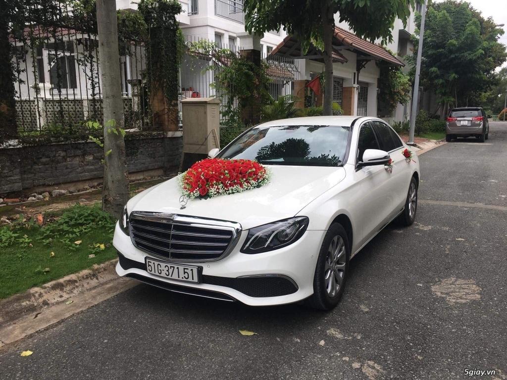 Chuyên cho thuê xe hoa, xe rước dâu Mercedes BMW Camry giá tốt xe đẹp - 19