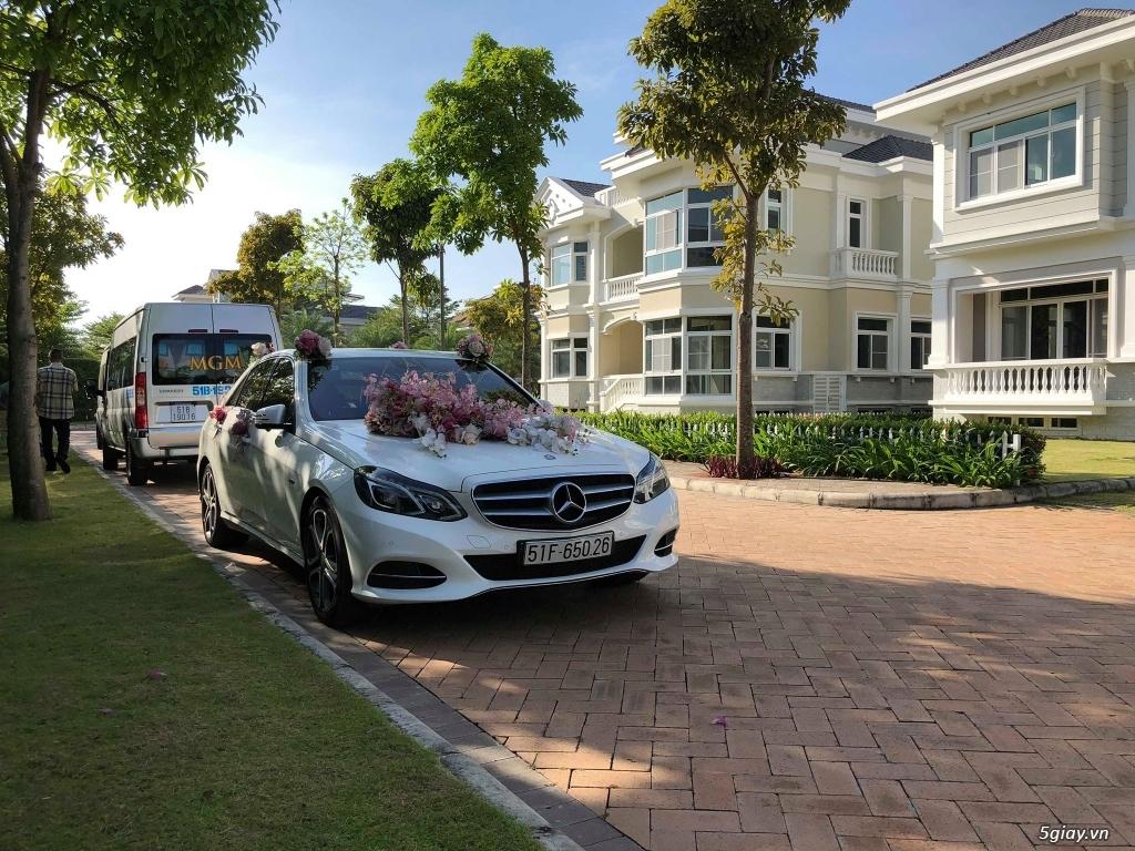 Chuyên cho thuê xe hoa, xe rước dâu Mercedes BMW Camry giá tốt xe đẹp - 9