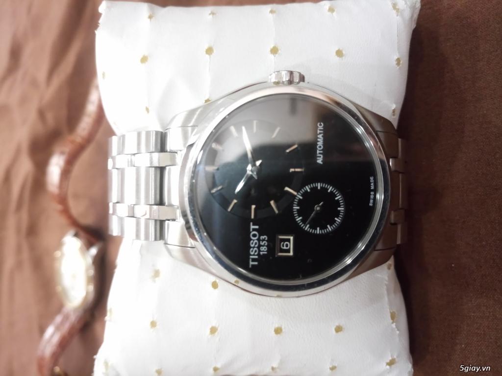 Đồng hồ Tissot auto,Titoni auto,Longines pin.Đang xài cần bán - 5