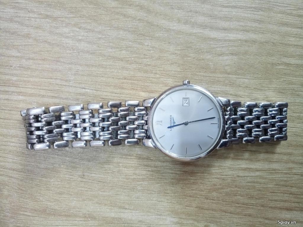 Đồng hồ Tissot auto,Titoni auto,Longines pin.Đang xài cần bán - 4
