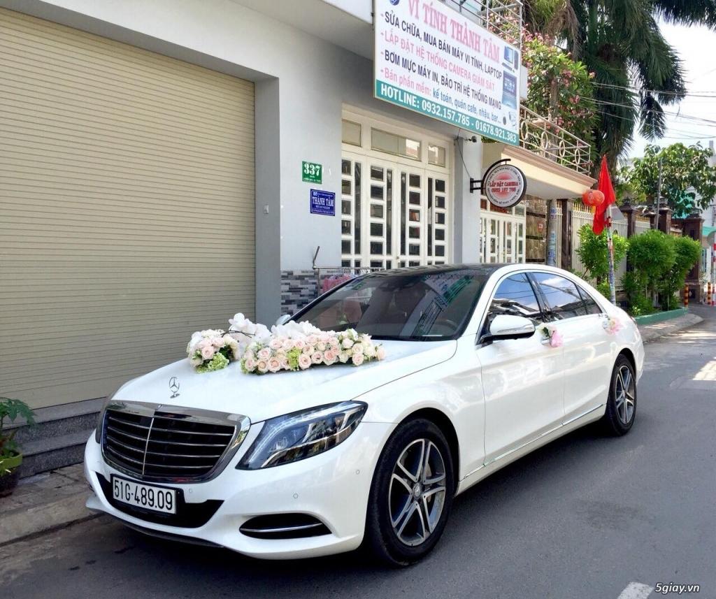 Chuyên cho thuê xe hoa, xe rước dâu Mercedes BMW Camry giá tốt xe đẹp - 30