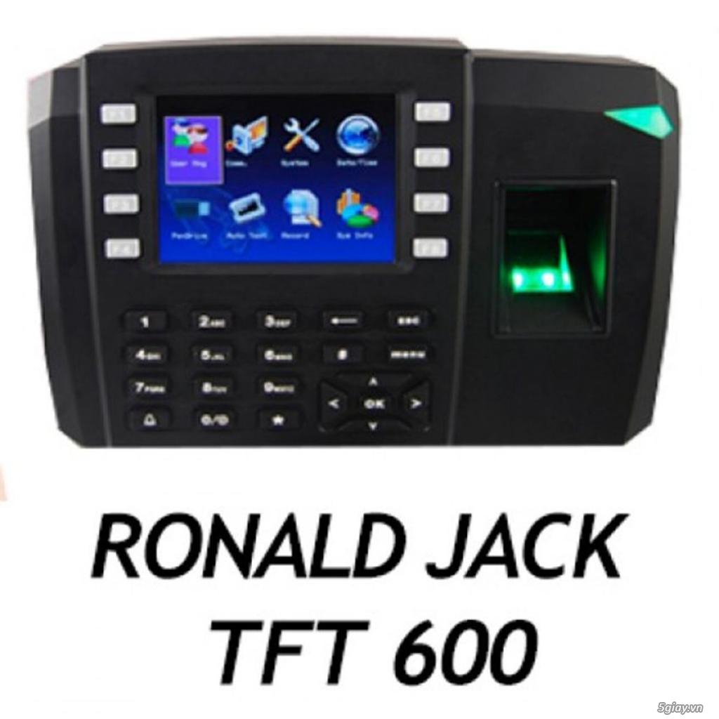 Máy chấm công vân tay và kiểm soát cửa ra vào Ronald Jack TFT 600