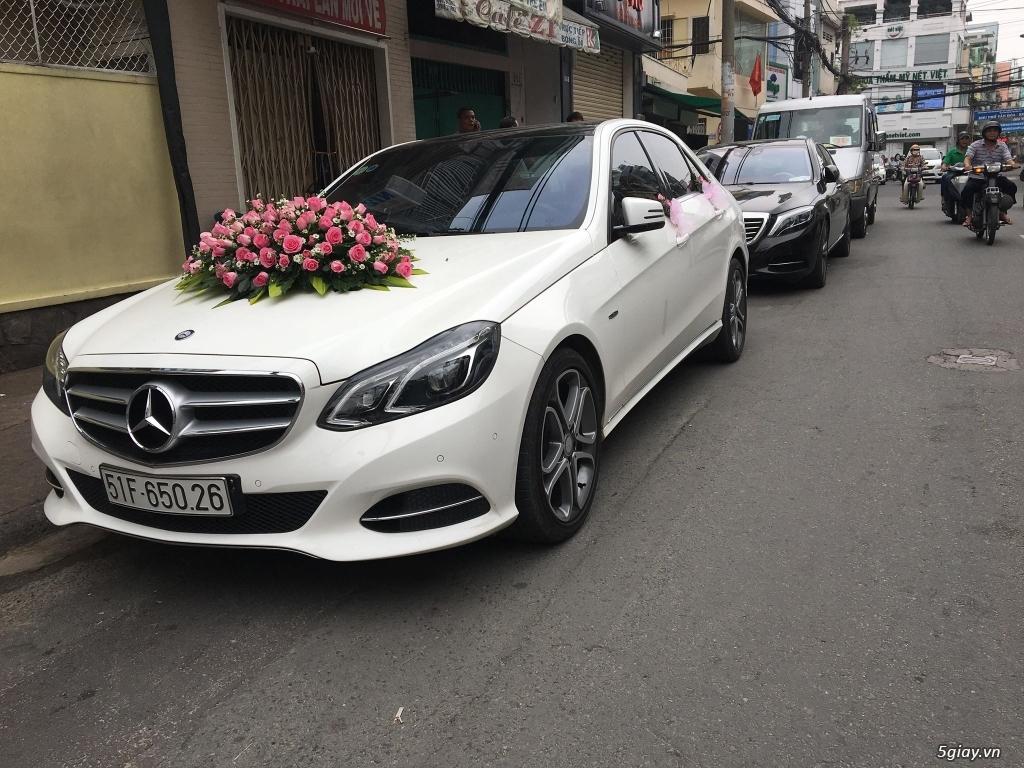 Chuyên cho thuê xe hoa, xe rước dâu Mercedes BMW Camry giá tốt xe đẹp - 36