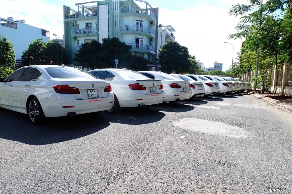 Chuyên cho thuê xe hoa, xe rước dâu Mercedes BMW Camry giá tốt xe đẹp - 7