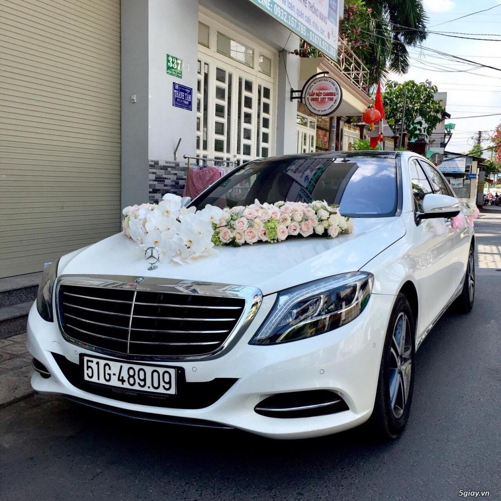 Chuyên cho thuê xe hoa, xe rước dâu Mercedes BMW Camry giá tốt xe đẹp - 39