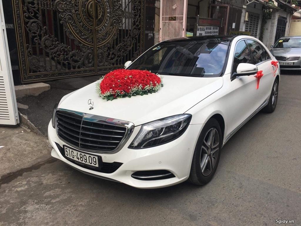 Chuyên cho thuê xe hoa, xe rước dâu Mercedes BMW Camry giá tốt xe đẹp - 18