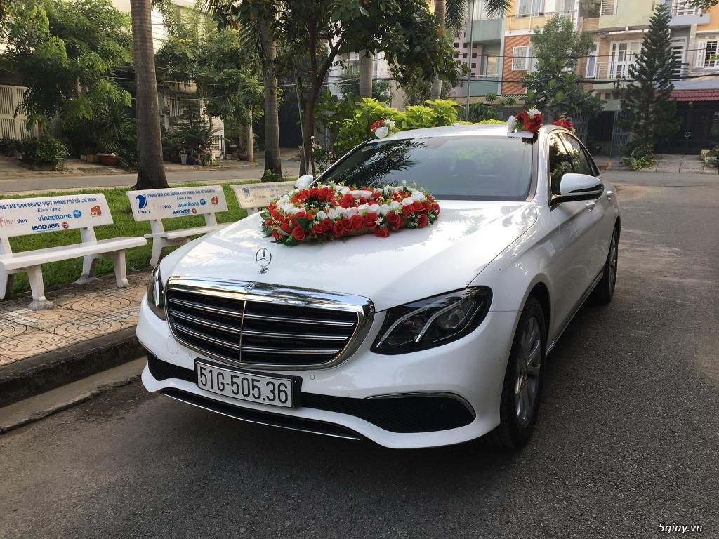 Chuyên cho thuê xe hoa, xe rước dâu Mercedes BMW Camry giá tốt xe đẹp - 14
