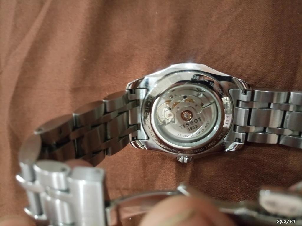 Đồng hồ Tissot auto,Titoni auto,Longines pin.Đang xài cần bán - 8