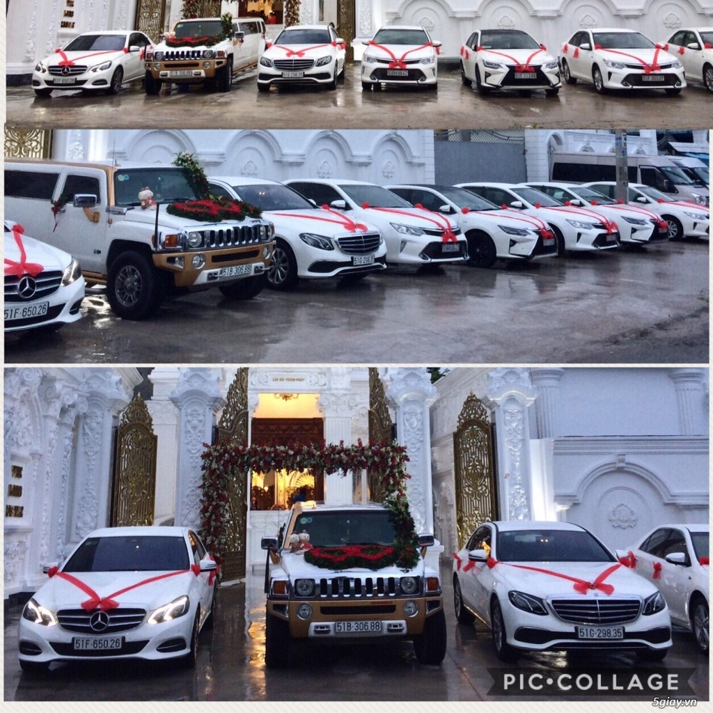 Chuyên cho thuê xe hoa, xe rước dâu Mercedes BMW Camry giá tốt xe đẹp - 26