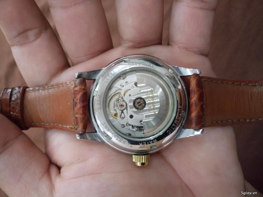 Đồng hồ Tissot auto,Titoni auto,Longines pin.Đang xài cần bán - 13