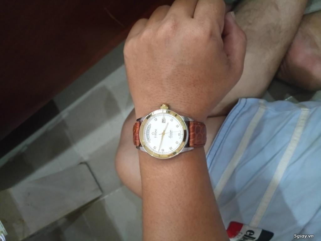 Đồng hồ Tissot auto,Titoni auto,Longines pin.Đang xài cần bán - 10