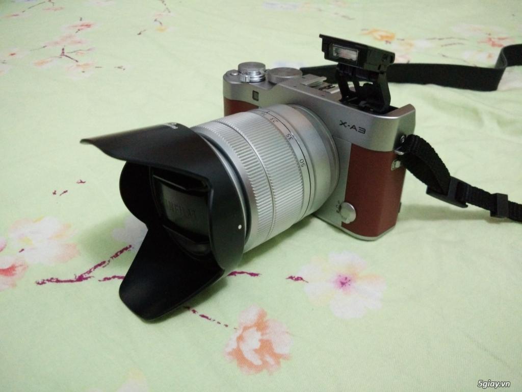 Fujifilm X A3 Kit 16 50mm T Dng Cn Bo Hnh Di 5giay Silver