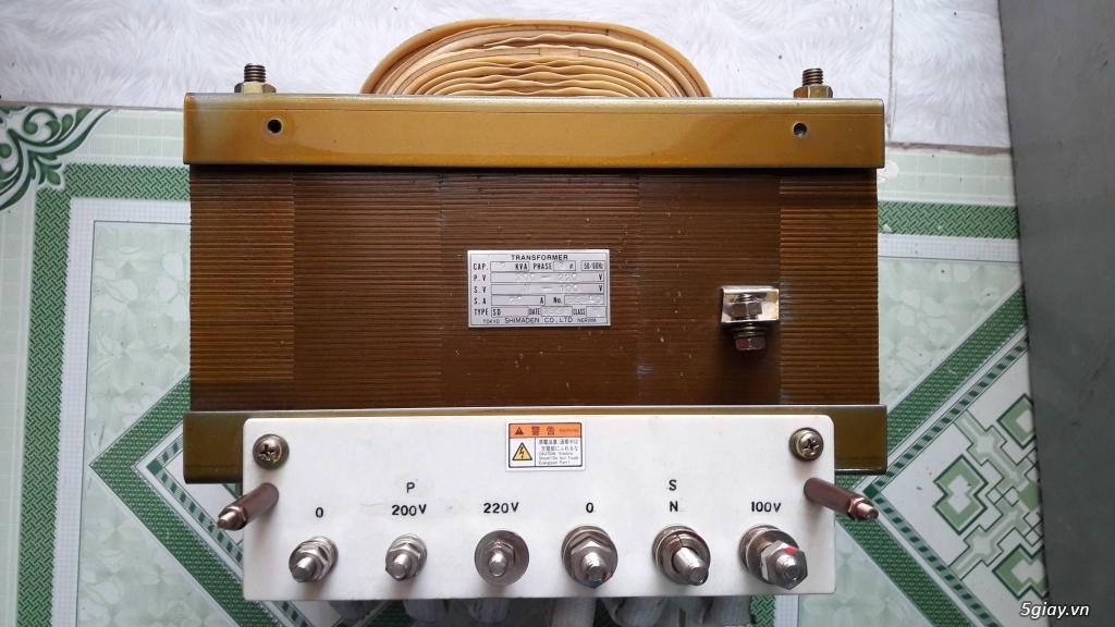 Biến áp cách ly Nhật 500VA -10KVA, lọc nguồn âm thanh..... - 5