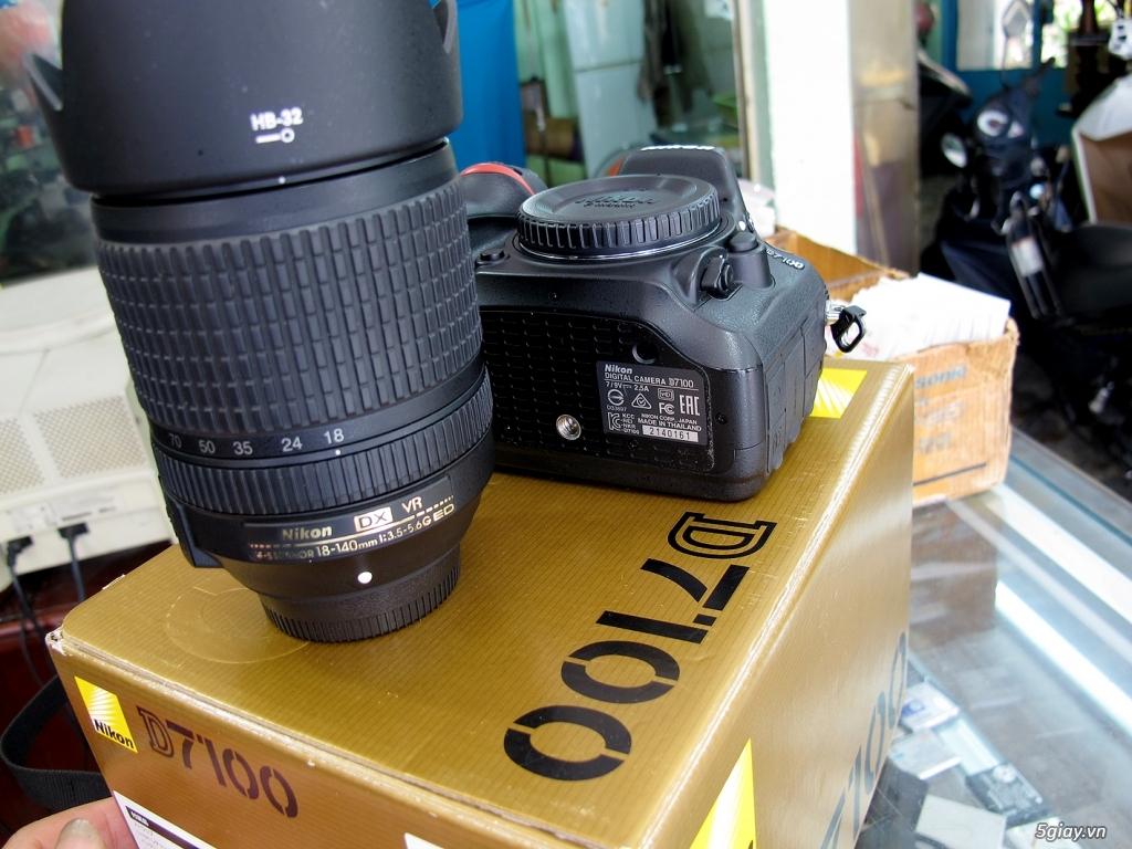 nikon D7100 -như mới Full box -chụp 4k -kèm lens 18-140VR như mới - 5