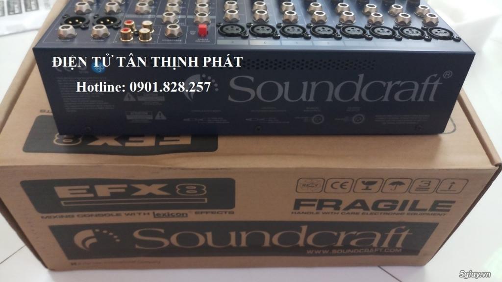 bán mixer soundcraft efx8 - 3