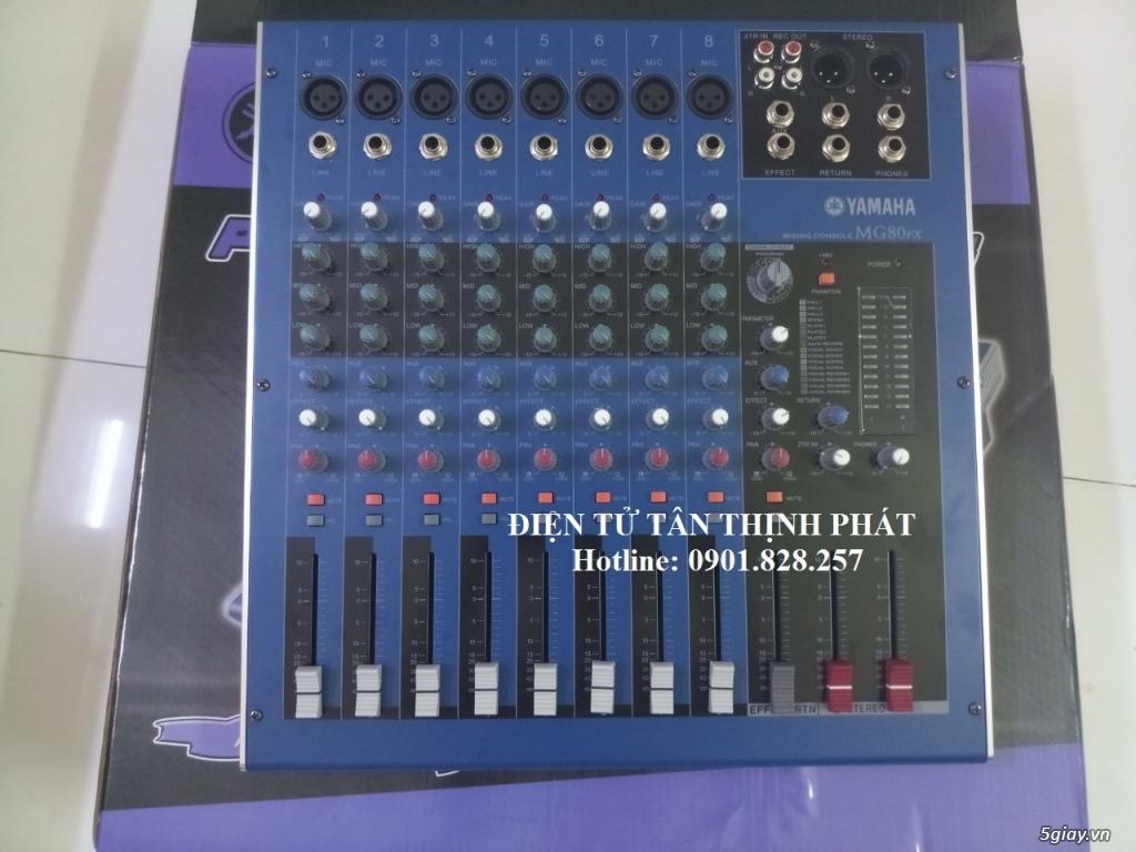 bán mixer yamaha mg80fx giá rẻ tại tphcm
