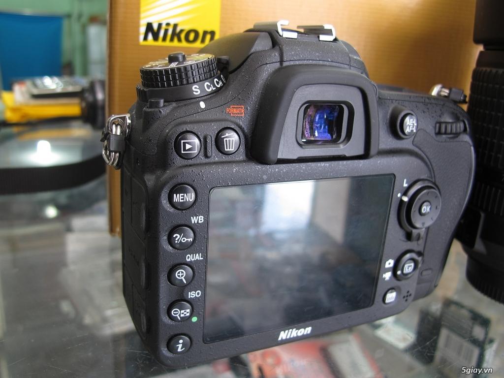 nikon D7100 -như mới Full box -chụp 4k -kèm lens 18-140VR như mới - 2